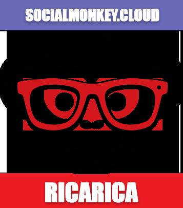 ricarica socialmonkey